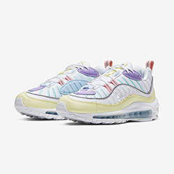 320ba02367270 This Nike Air Max 98 is a Pastel Treat