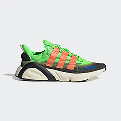33db329f800401 The adidas LXCON Solar Green Goes Bold and Bright