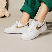 sneakers for cheap 85241 10710 The Nike Air Force 1 Low PRM QS Ivory Snake is Finally Here