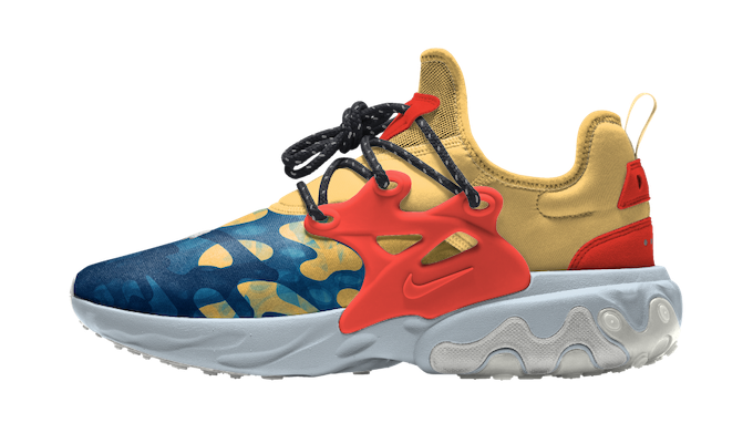 The Nike Presto React Premium By You Is Ready For