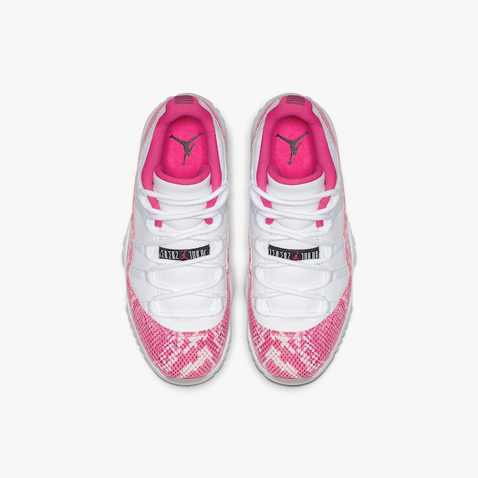 be89c2a7f63e The NIKE WMNS AIR JORDAN 11 RETRO LOW PINK SNAKESKIN is due to release on  TUESDAY 7 MAY  hit the banner below to check it out on SNS ahead of the  drop.