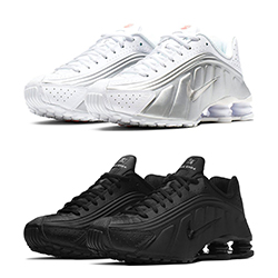 bbcef25f7426f2 The Nike Shox R4 Moves from Light to Dark