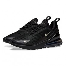 22aee34ec3f6e The Nike Air Max 270 Black and Chrome Adds a Subtle Flash