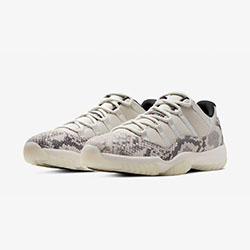 a6ce4d5fa827c9 Coming Soon  Nike Air Jordan 11 Low Snake Light Bone