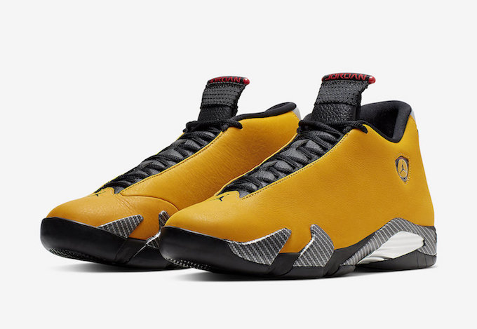 official photos 6bda2 a69bc Stay in the Fast Lane with the Nike Air Jordan 14 Retro SE Yellow Ferrari