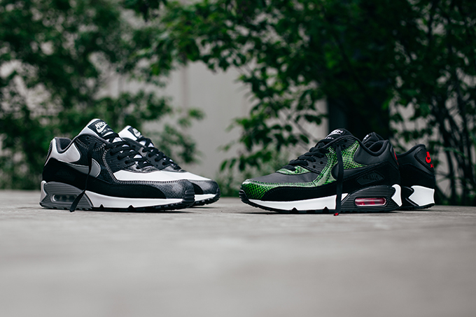 A Closer Look at the Nike Air Max 90 QS Python Pack The