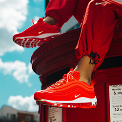 dae538272d Foot Locker Exclusive: Nike WMNS Air Max 97 Red Orbit
