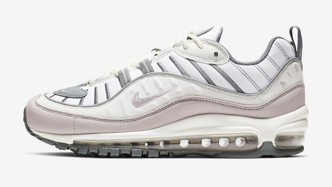 Available Now: Nike WMNS Air Max 98 Violet Ash - The Drop Date