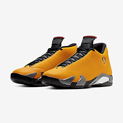 23d3613e10a Stay in the Fast Lane with the Nike Air Jordan 14 Retro SE Yellow Ferrari