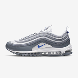 e913132ee40 Available Now: Nike Air Max 97 White and Cool Grey