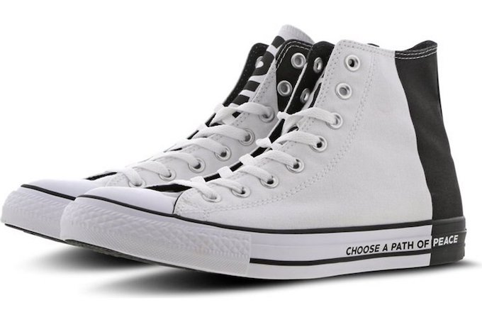 The Converse Chuck Taylor All Star High Promotes World Peace ...