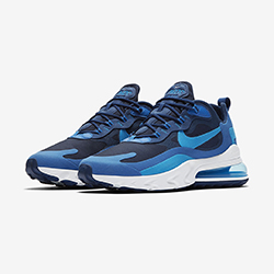 18faaa2406 Available Now: Nike Air Max 270 React Blue Void