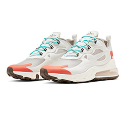 fd96146305a7e Available Now: the Nike Air Max 270 React Light Beige Chalk