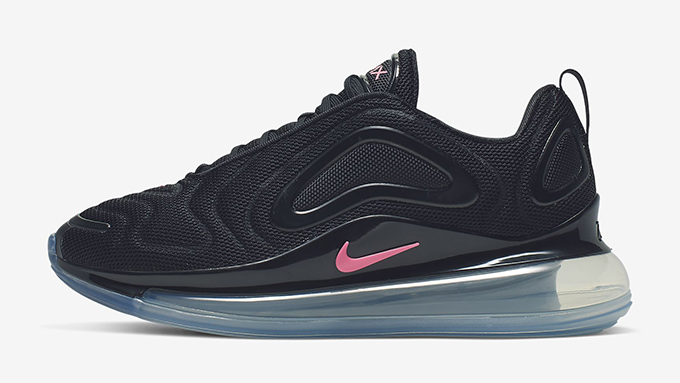 Nike WMNS Air Max 720 Black and Sunset