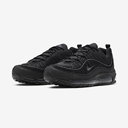 separation shoes a3d92 ea027 Available Now  Nike Air Max 98 Black and Anthracite