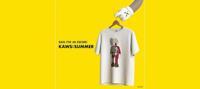 Uniqlo UT Kaws: Summer Collection