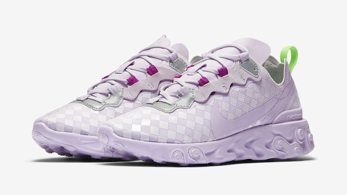 Nike WMNS React Element 55 Barely Grape