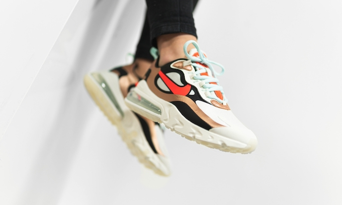 Nike WMNS Air Max 270 React Metallic Red Bronze