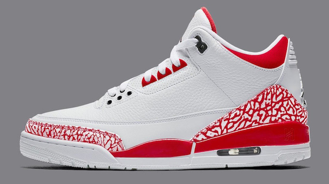 NIKE AIR JORDAN 3 SE WHITE AND FIRE RED
