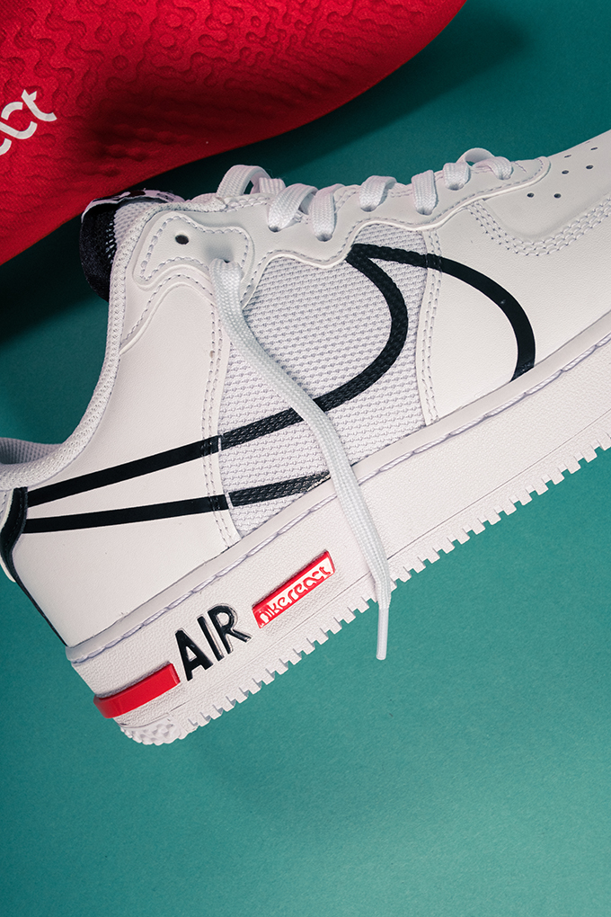 The Nike Air Force 1 Gets Hit With React Cushioning