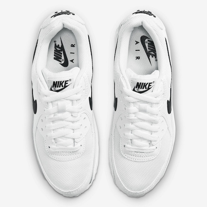 Nike Air Max 90 Recraft White and Black