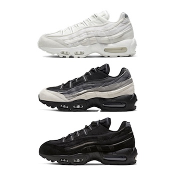 Air Max 95 All Black Air Max 95 Homme Nike Max 95 Gris Et