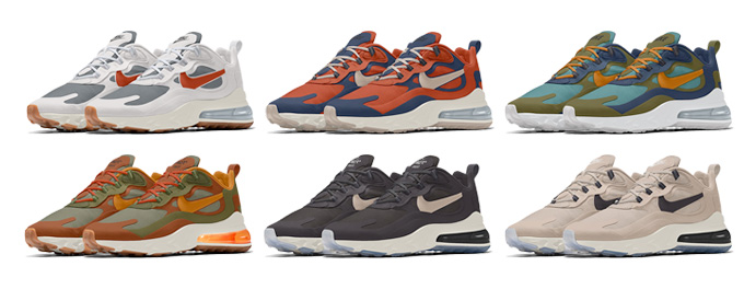 Nike Air Max 270 React By You