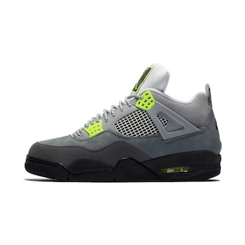 Nike Air Jordan 4 Retro 95 Neon AVAILABLE NOW The Drop