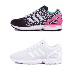ADIDAS ORIGINALS ZX FLUX solar pink white
