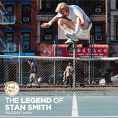 ADIDAS SKATEBOARDING REVEALS STAN SMITH'S SECRET LIFE OF SKATE
