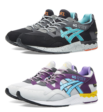 ASICS Tiger Gel-Lyte v gore-tex latigo bay white purple yellow black p df3c252cdec4
