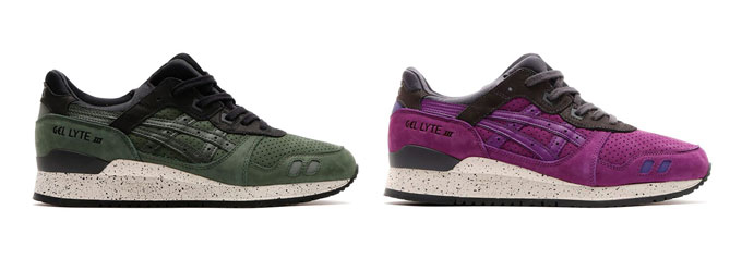 asics tiger gel lyte iii after hours pack