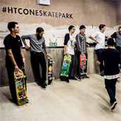 SIDEWALK AND KINGPIN AT THE HTC ONE SKATEPARK, SELFRIDGES, LONDON