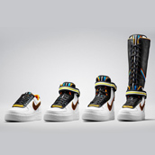 THE NIKE + R.T. AIR FORCE 1 COLLECTION