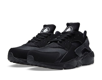 Air Huarache Triple Black Restock