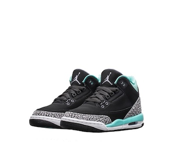 reputable site 9b929 a3b7e NIKE AIR JORDAN 3 RETRO GS BLEACHED TURQUOISE