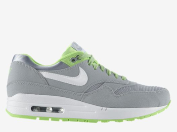 NIKE AIR MAX 1 VENOM Wolf Grey Flash Lime #512033 013