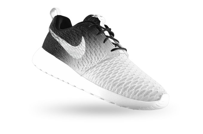 The nike flyknit roshe run id is available now check out the