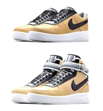 ... NIKE + R.T. AIR FORCE 1 VACHETTA TAN COLLECTION; Nike recently unveiled  the third and final installment of the Riccardo Tisci ...