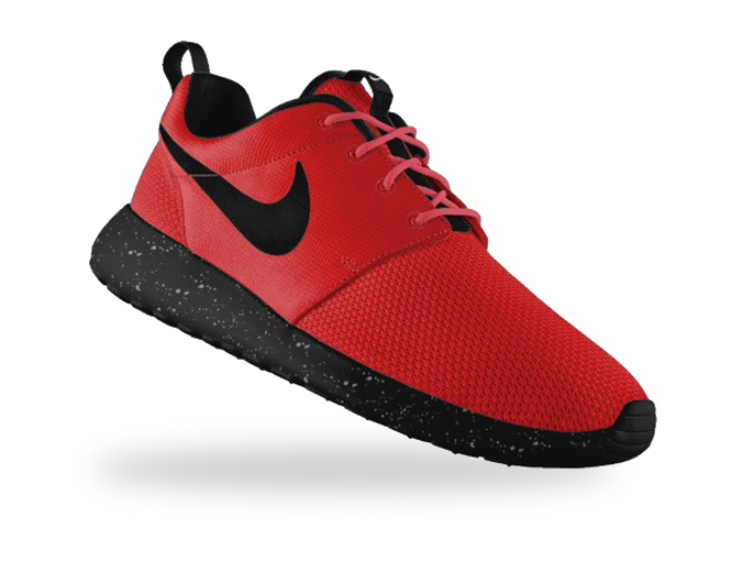 ab80dd7886be Nike Roshe Run Red Black extreme-hosting.co.uk
