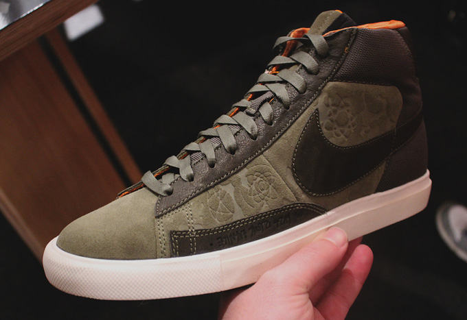 nike x mo'wax blazer high mens shoe