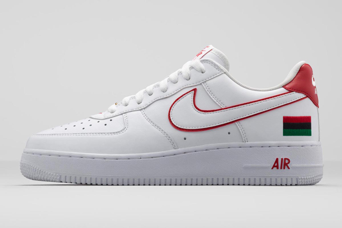the best attitude bab8b b4eec Nike Air Force 1 Low Black History Month 10th Anniversary Reissue 2