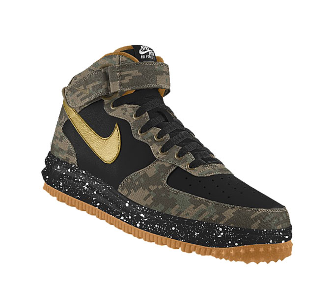 nike air force 1 mid camo