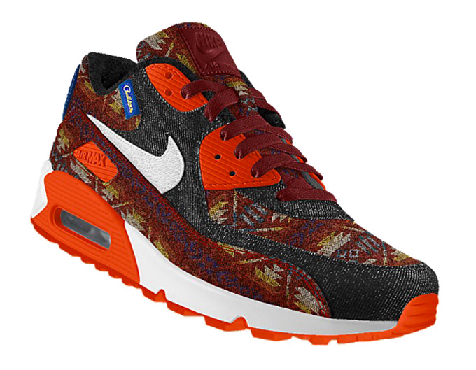 reputable site 06196 8a313 Nike Air Max 90 Premium Pendleton iD