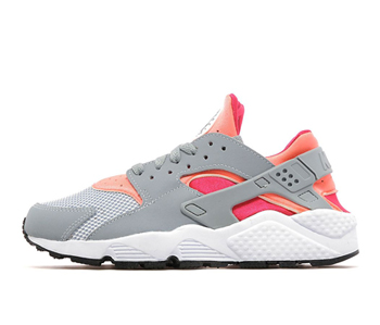 Nike air huarache light magnet grey bright mango fuschia frolic p