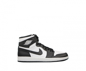 Nike air jordan 1 black white og retro p