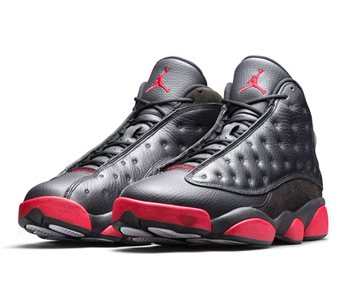 air jordan 13 xiii retro black gym red