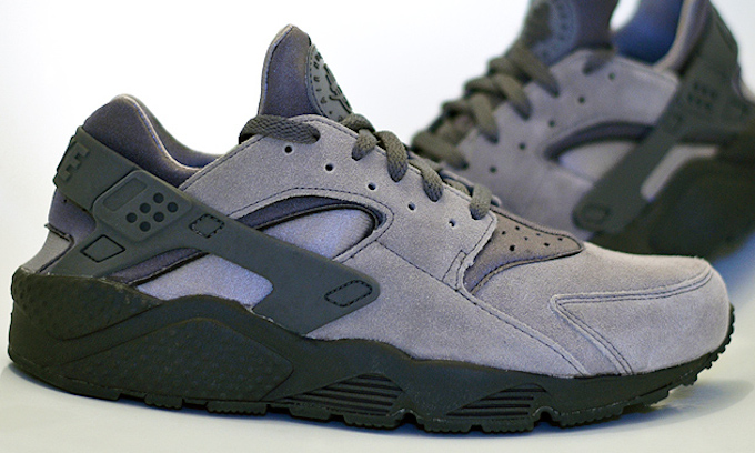 new style beb9b ecf64 NIKE AIR HUARACHE LE COOL GREY REVIEW