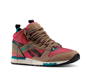 Reebok GL6000 mid canvas candy pink teal gem blue black white p