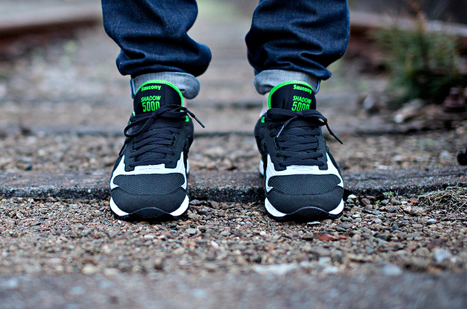 SAUCONY X SOLEBOX THE GREEN LUCANID SHADOW 5000 - 7.6.14 329700566